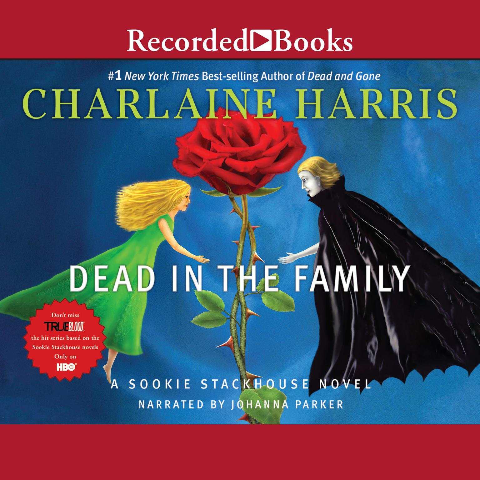 Printable Dead in the Family Audiobook Cover Art
