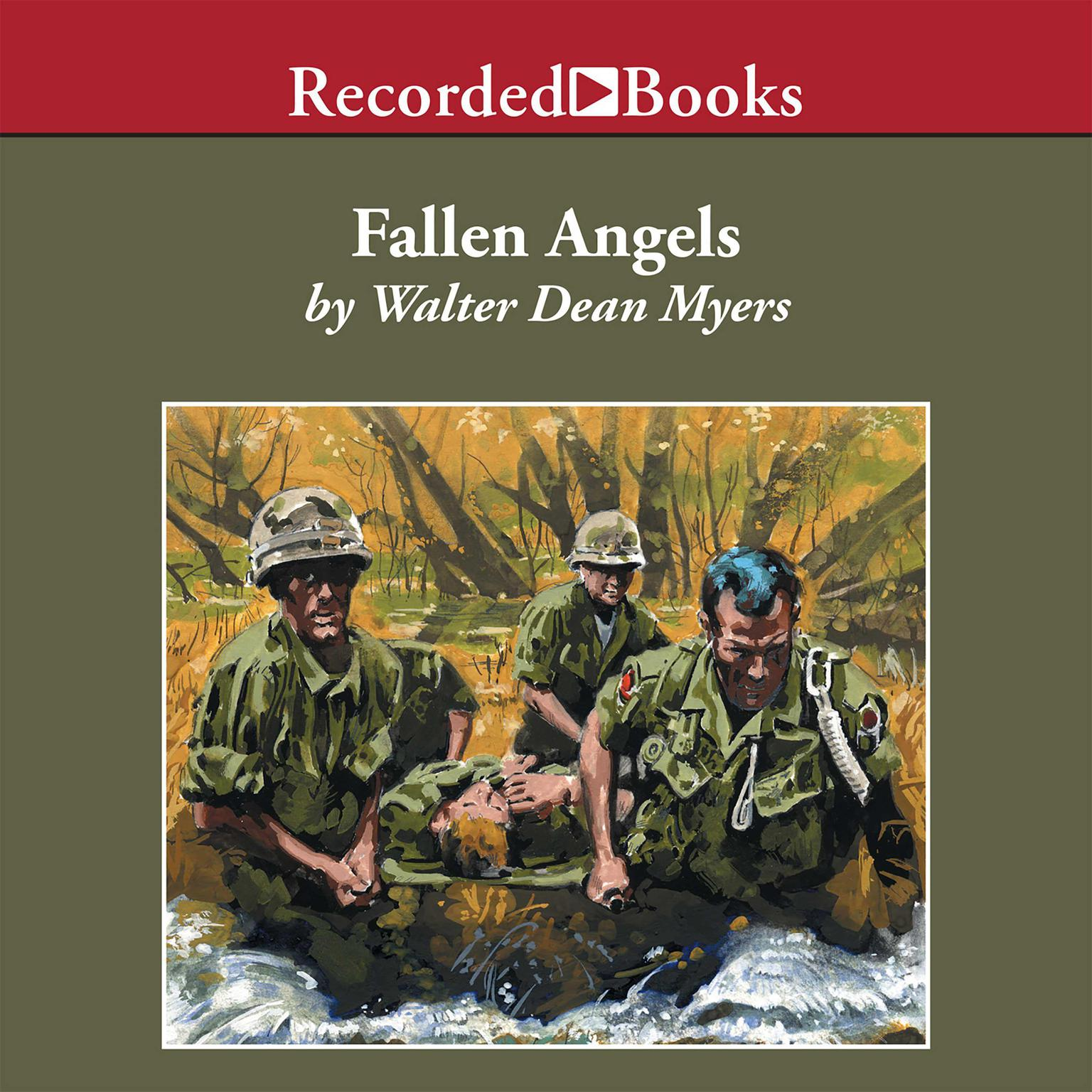 Printable Fallen Angels Audiobook Cover Art