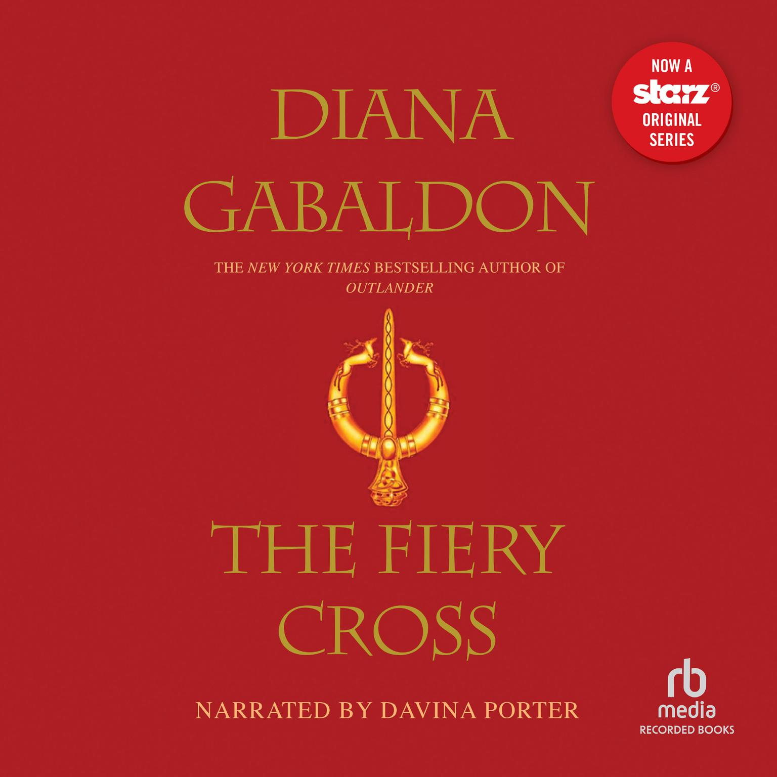 Printable The Fiery Cross Audiobook Cover Art