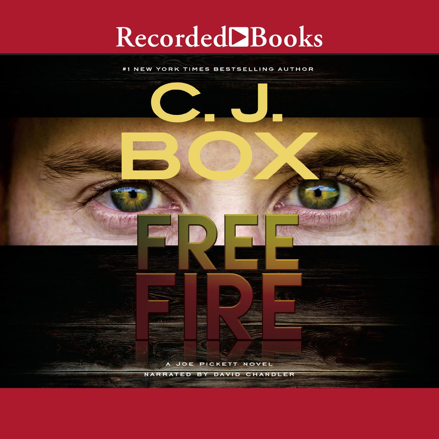 Printable Free Fire Audiobook Cover Art
