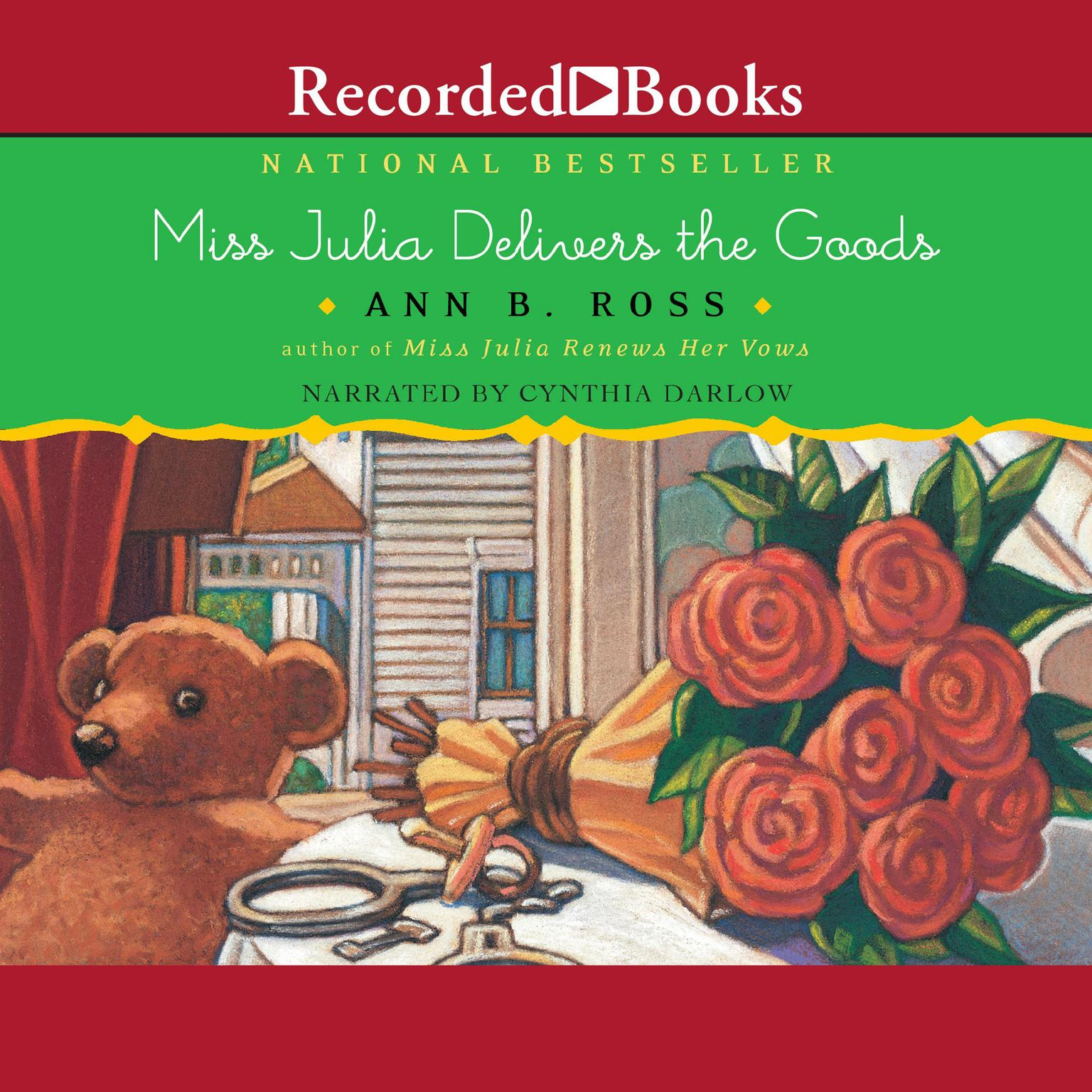 Printable Miss Julia Delivers the Goods Audiobook Cover Art