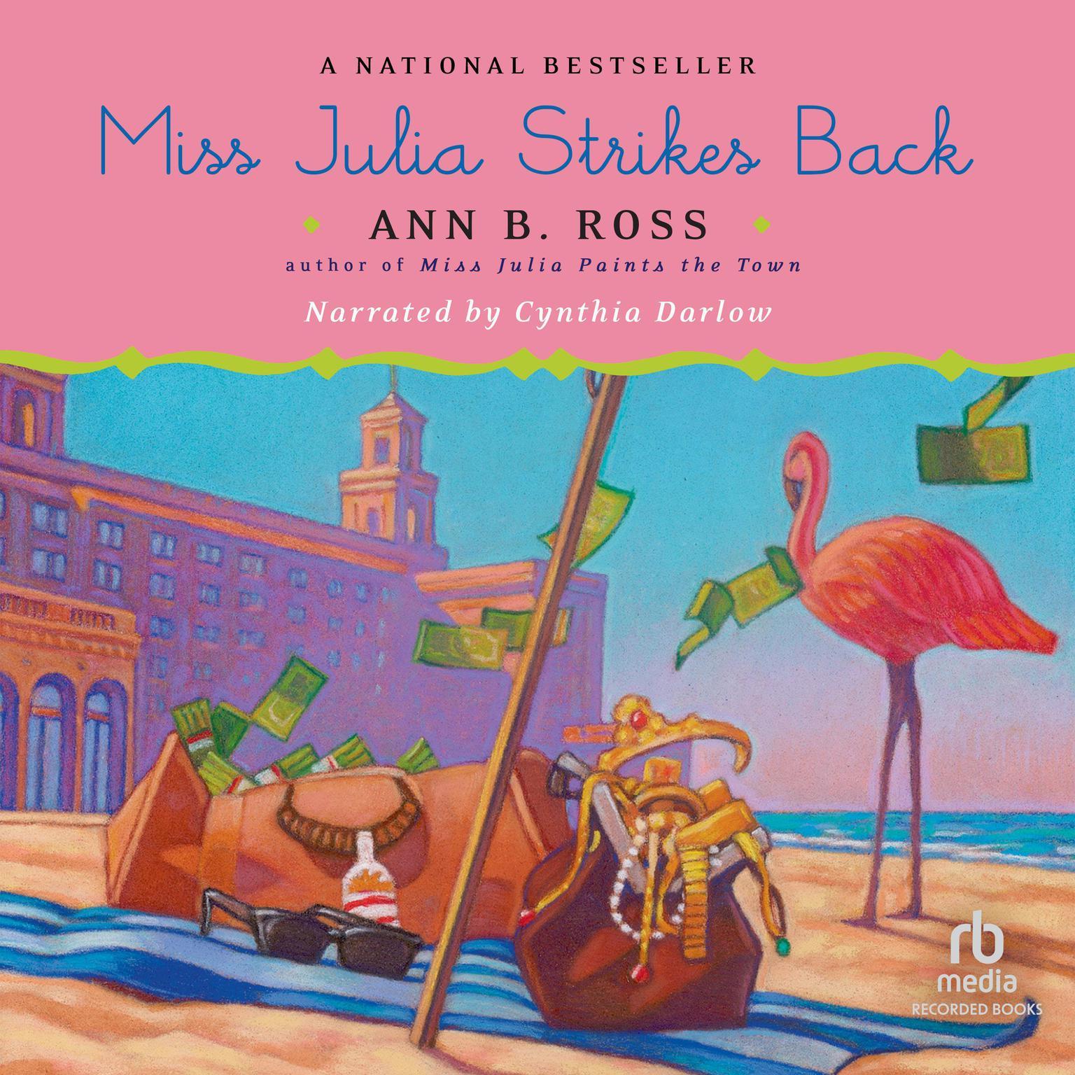 Printable Miss Julia Strikes Back Audiobook Cover Art
