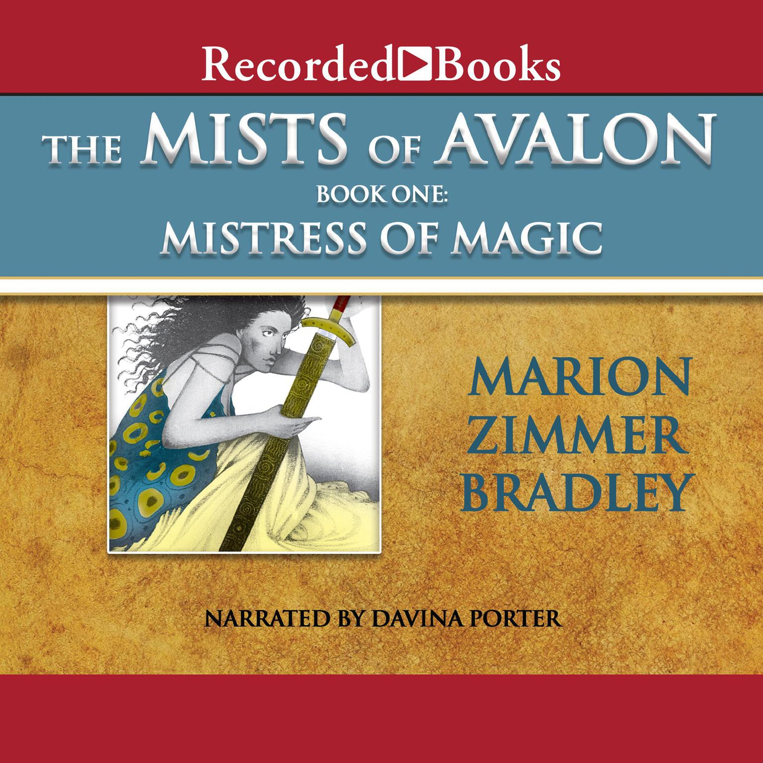 Printable Mistress of Magic Audiobook Cover Art