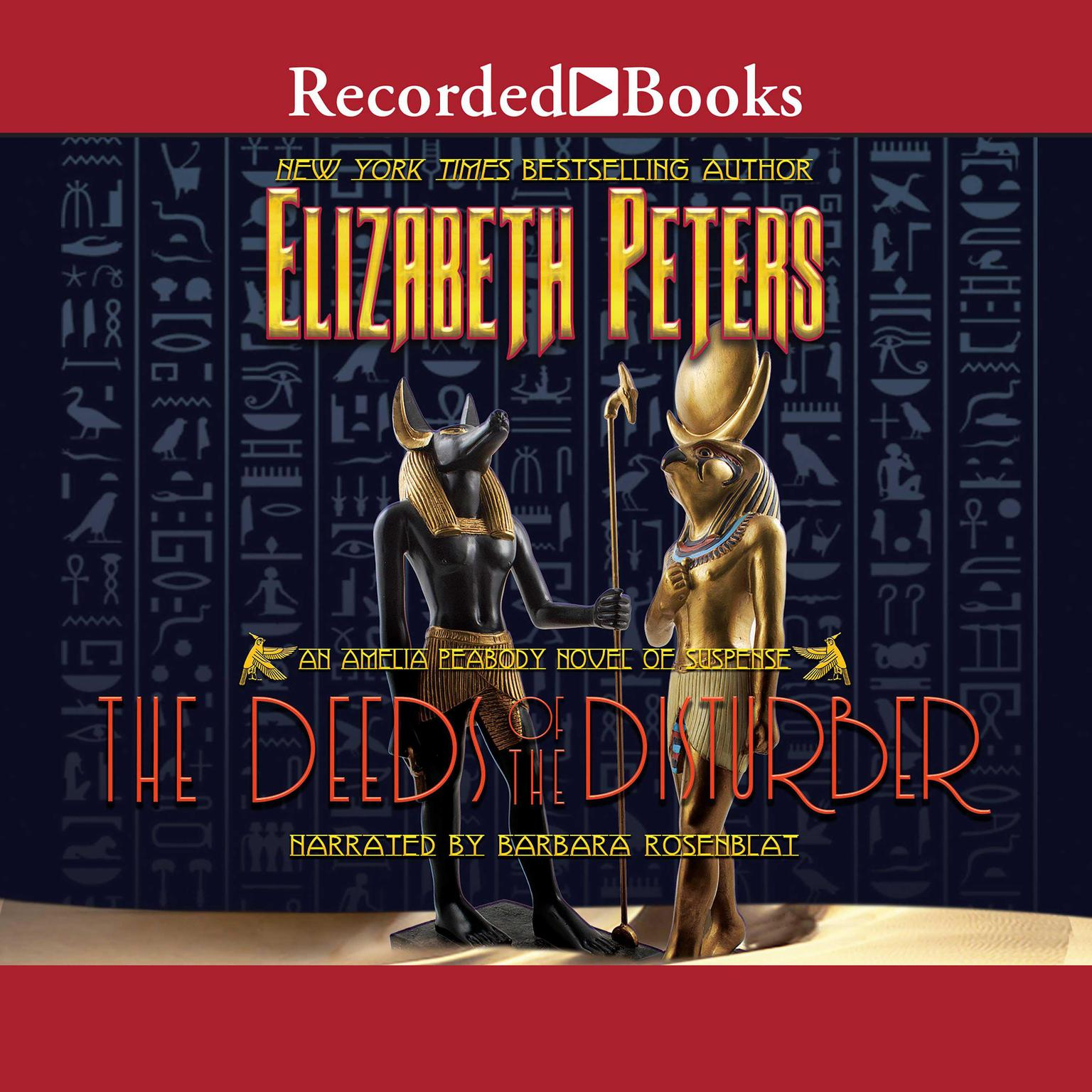 Printable The Deeds of the Disturber Audiobook Cover Art