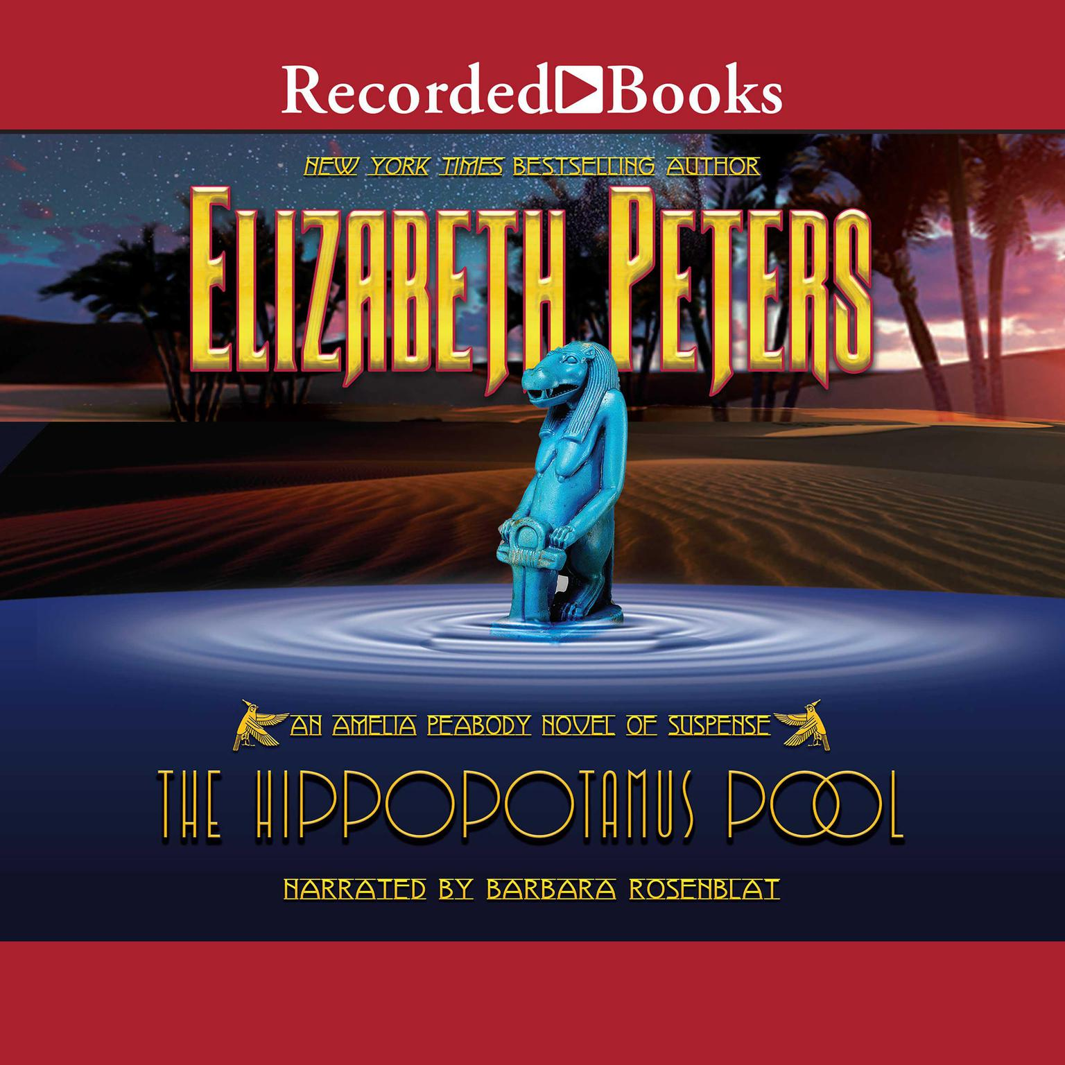 Printable The Hippopotamus Pool Audiobook Cover Art