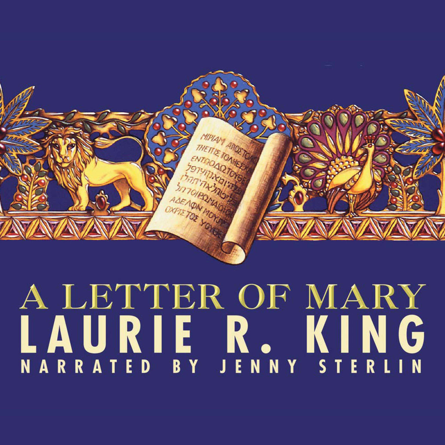 Printable A Letter of Mary: A Novel of Suspense Featuring Mary Russell and Sherlock Holmes Audiobook Cover Art