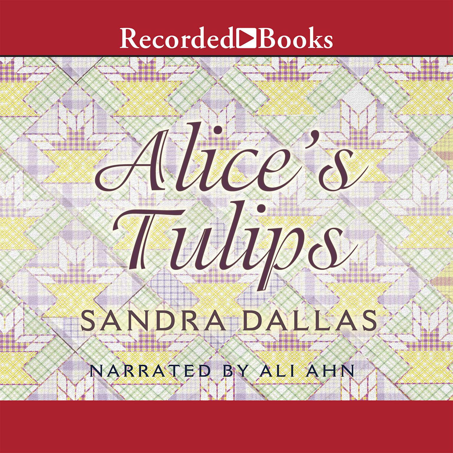 Printable Alice's Tulips Audiobook Cover Art