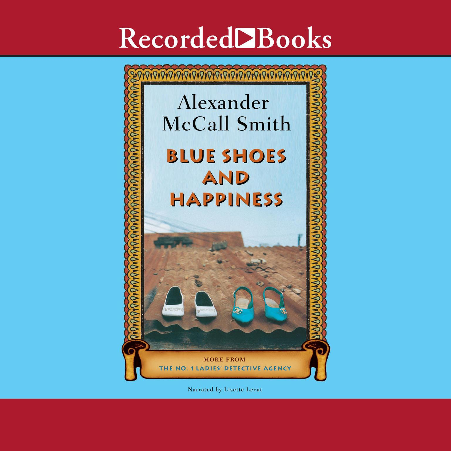 Printable Blue Shoes and Happiness Audiobook Cover Art
