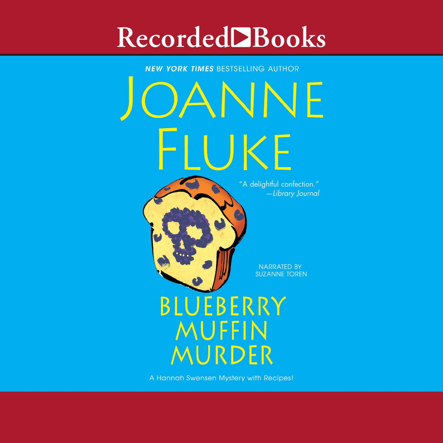 Printable Blueberry Muffin Murder Audiobook Cover Art