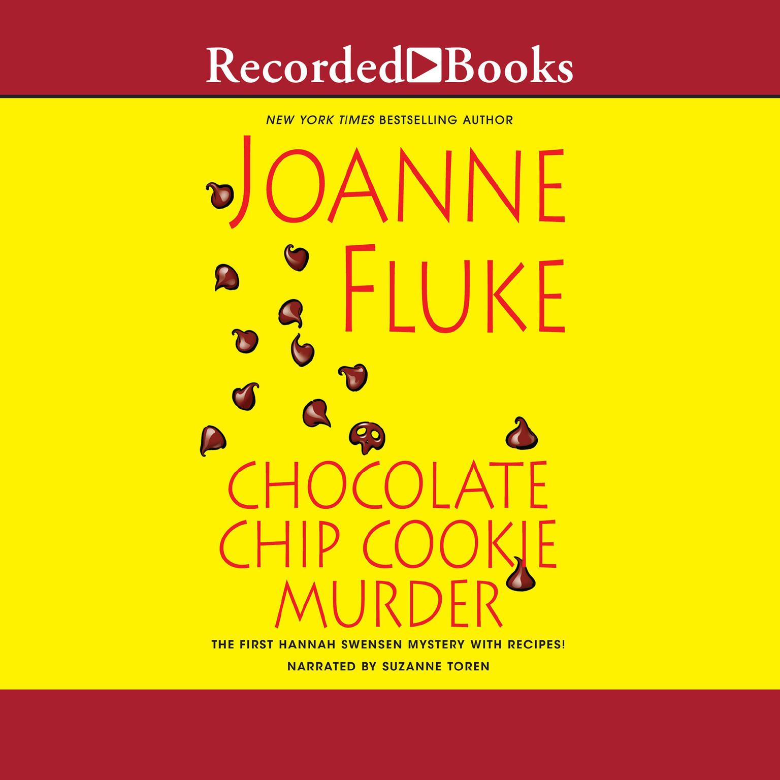 Printable Chocolate Chip Cookie Murder Audiobook Cover Art