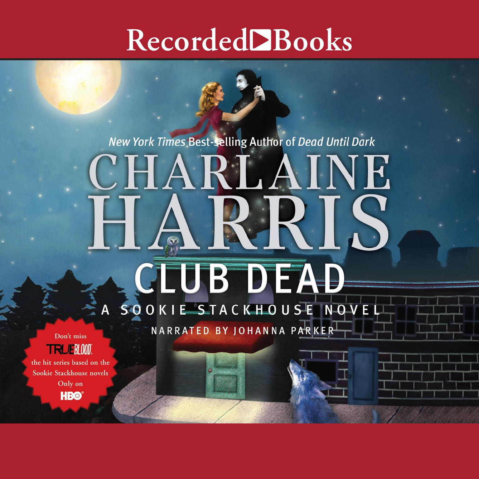 Printable Club Dead Audiobook Cover Art