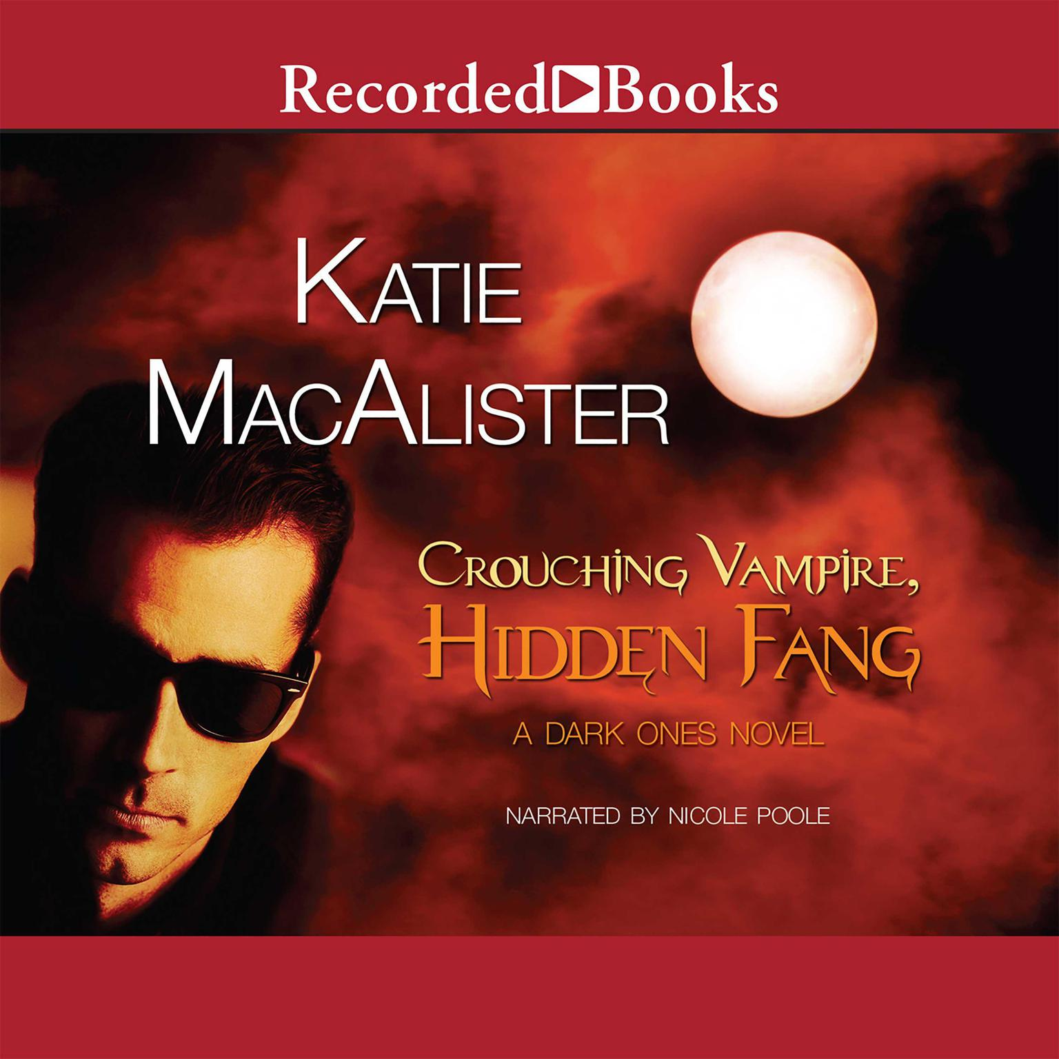 Printable Crouching Vampire, Hidden Fang Audiobook Cover Art