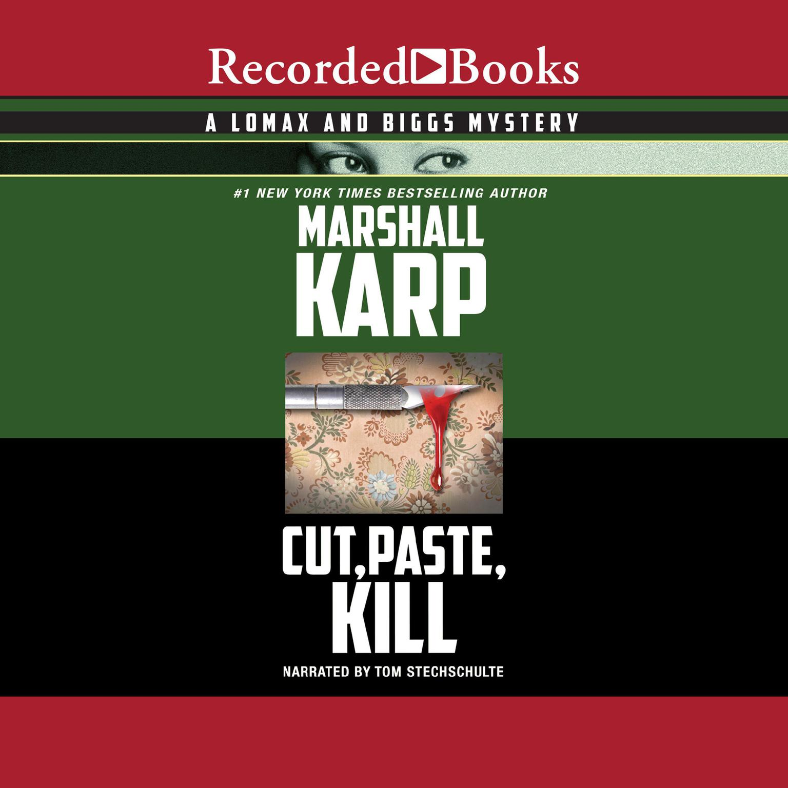 Printable Cut, Paste, Kill Audiobook Cover Art