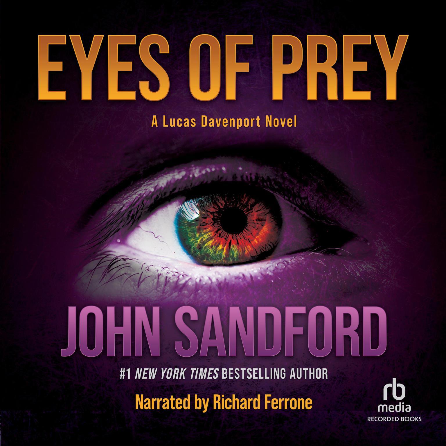 Printable Eyes of Prey Audiobook Cover Art