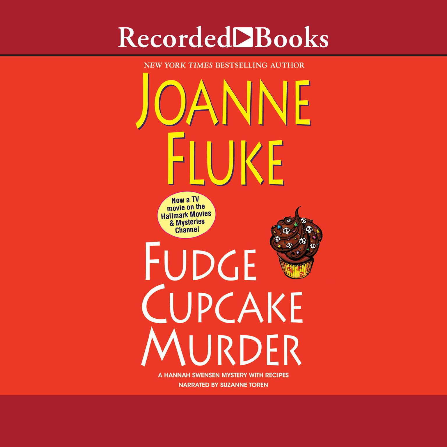 Printable Fudge Cupcake Murder Audiobook Cover Art