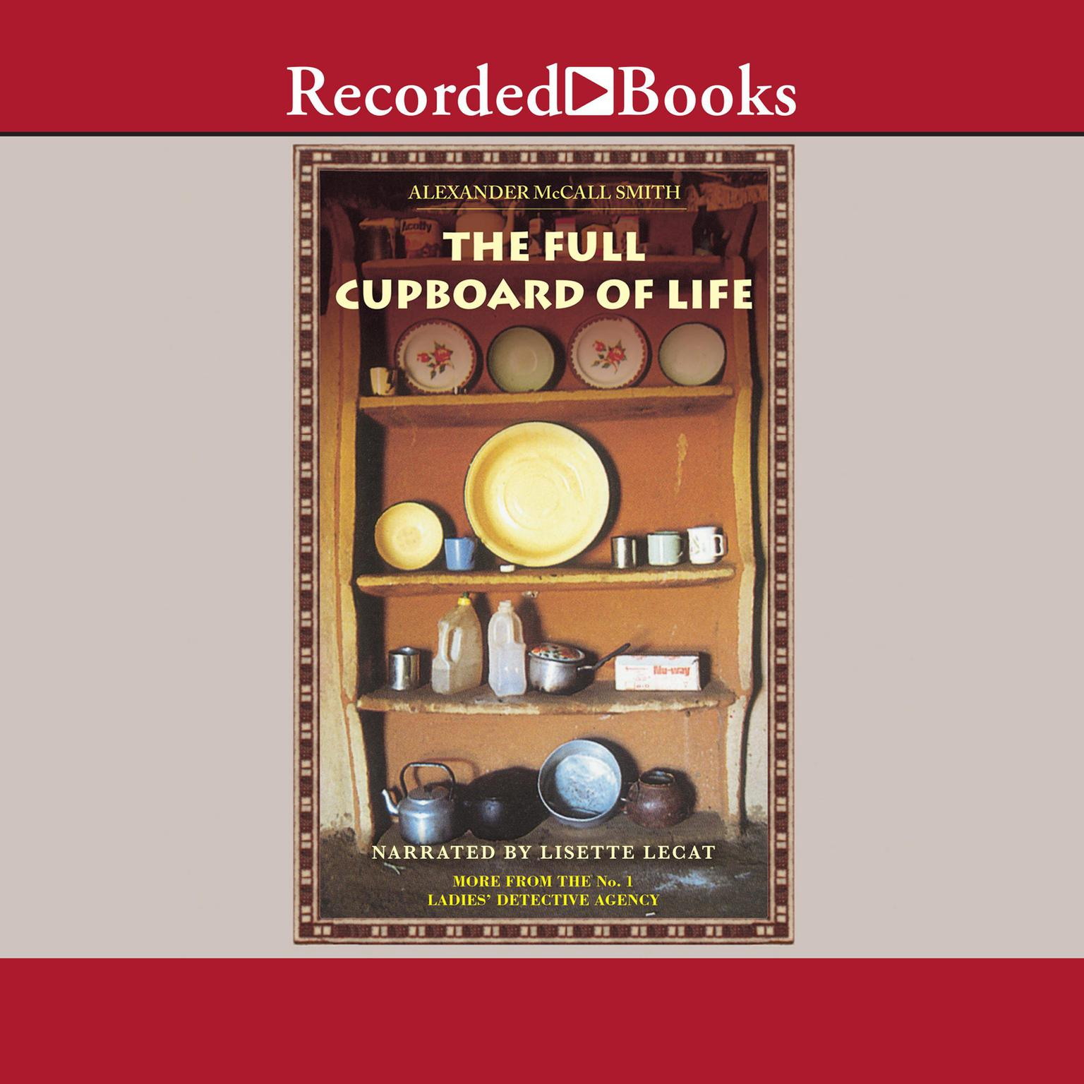 Printable The Full Cupboard of Life Audiobook Cover Art