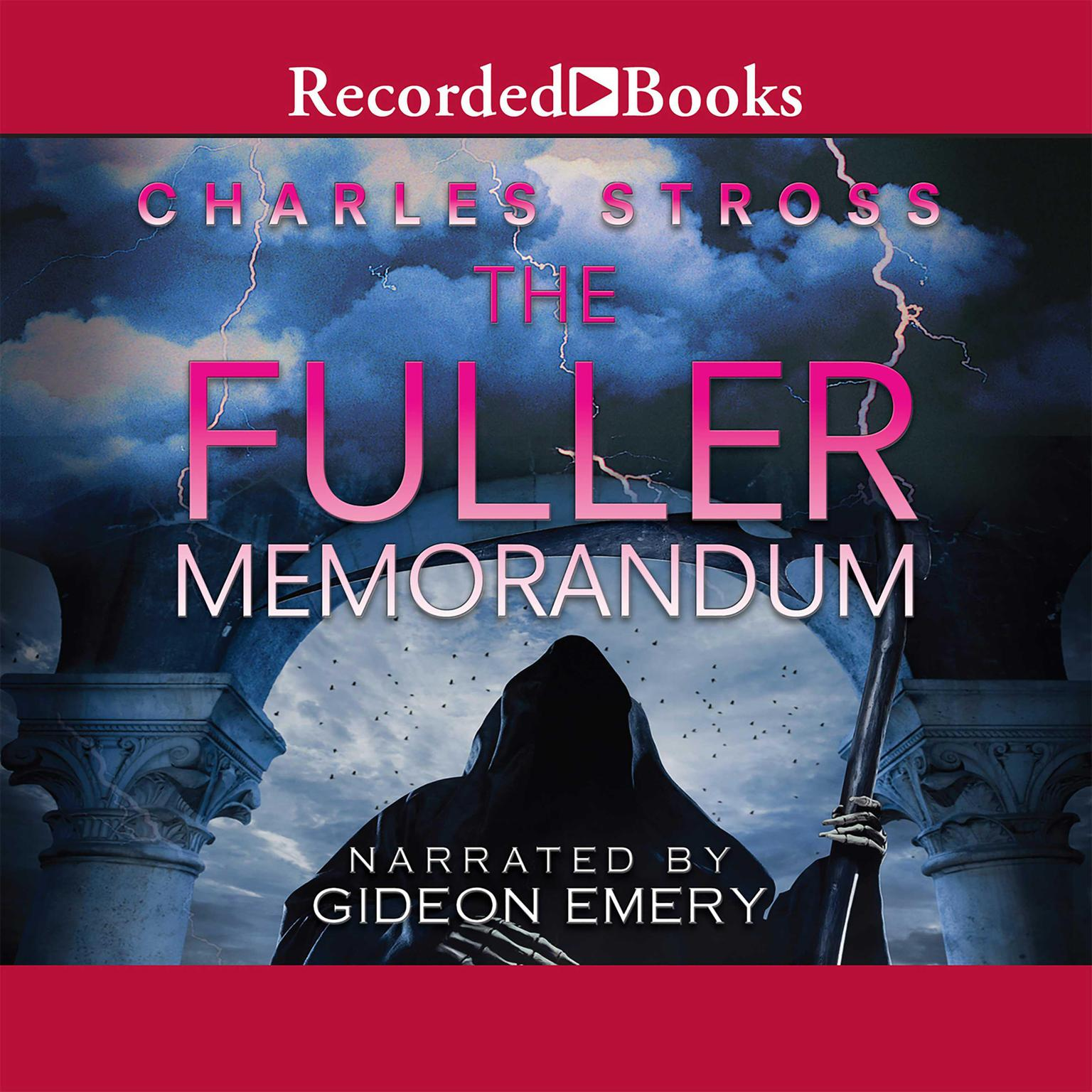 Printable The Fuller Memorandum Audiobook Cover Art