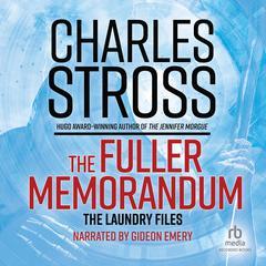The Fuller Memorandum Audiobook, by Charles Stross