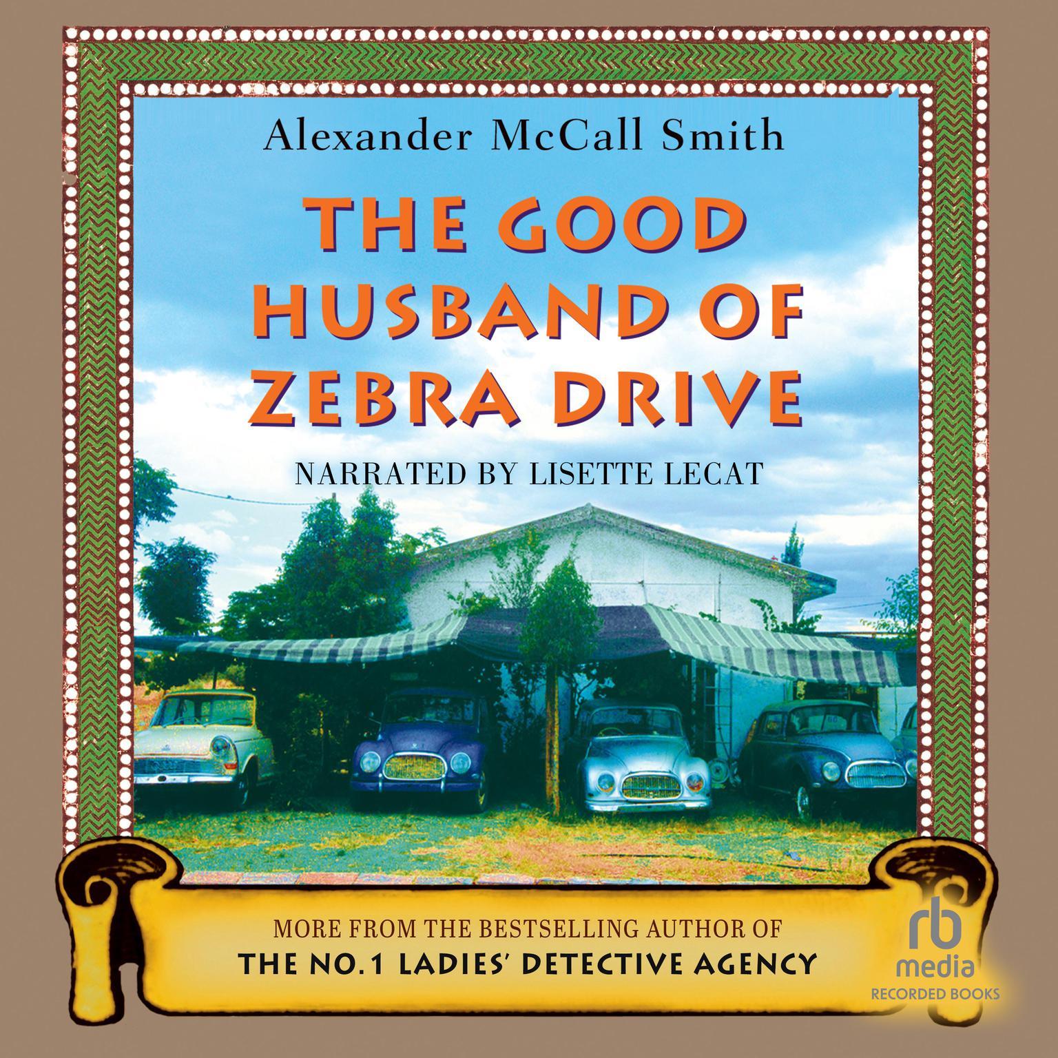 Printable The Good Husband of Zebra Drive Audiobook Cover Art