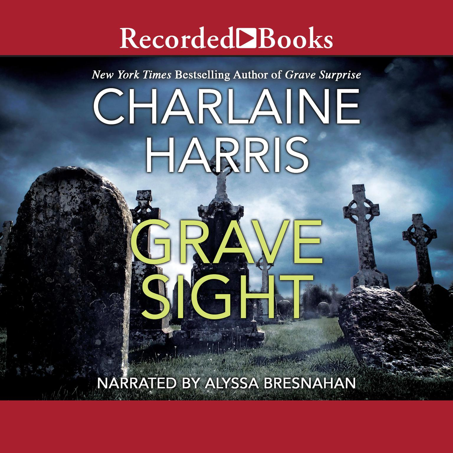 Printable Grave Sight Audiobook Cover Art