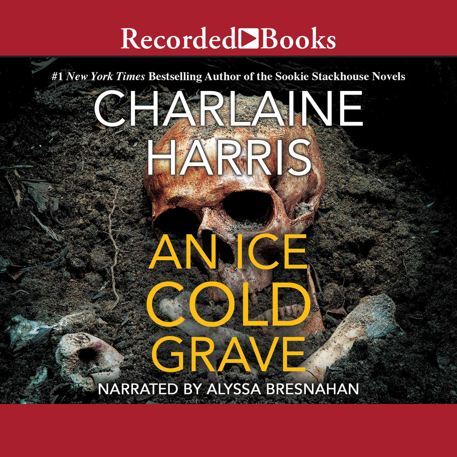 Printable An Ice Cold Grave Audiobook Cover Art