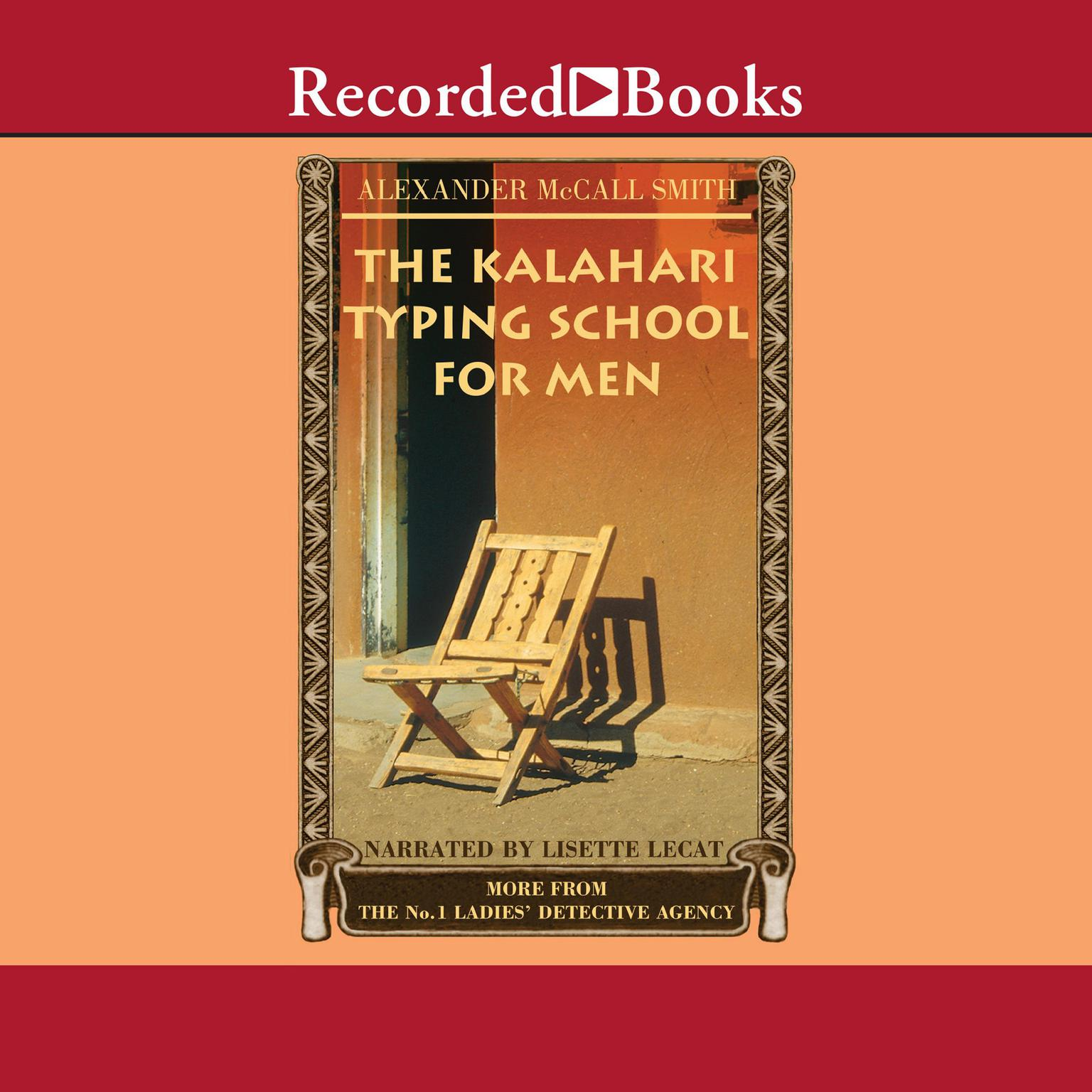 Printable The Kalahari Typing School for Men Audiobook Cover Art