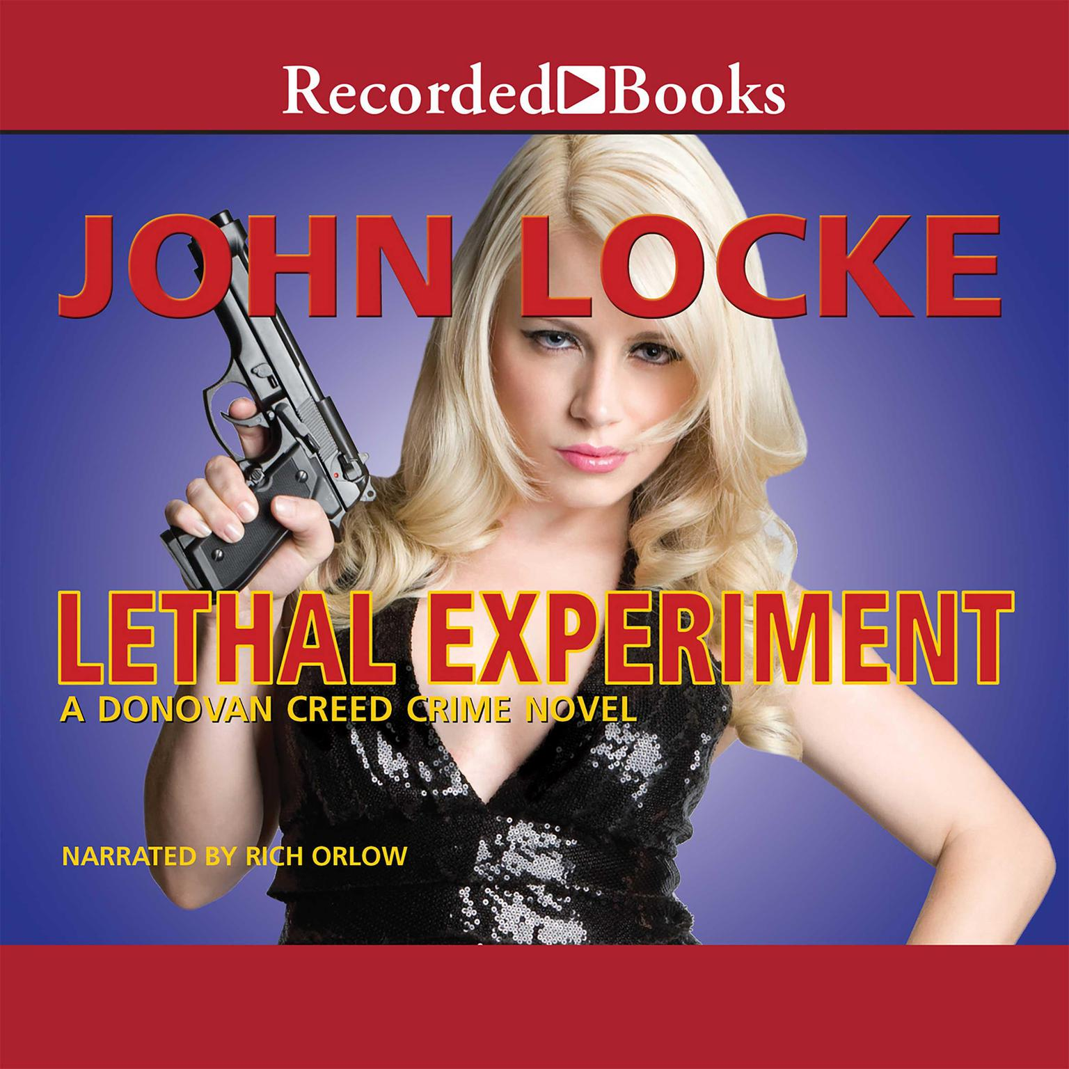 Printable Lethal Experiment Audiobook Cover Art