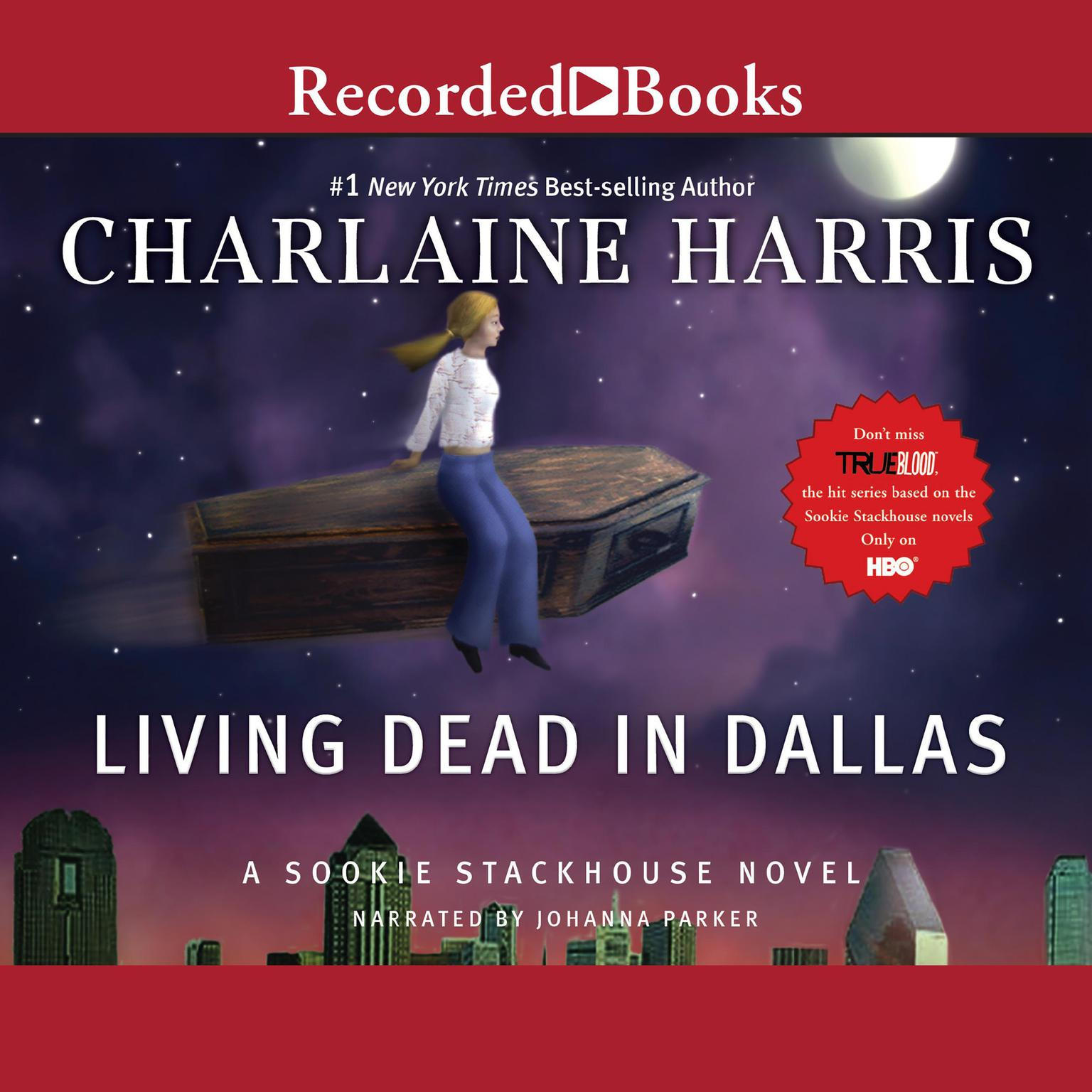 Printable Living Dead in Dallas Audiobook Cover Art
