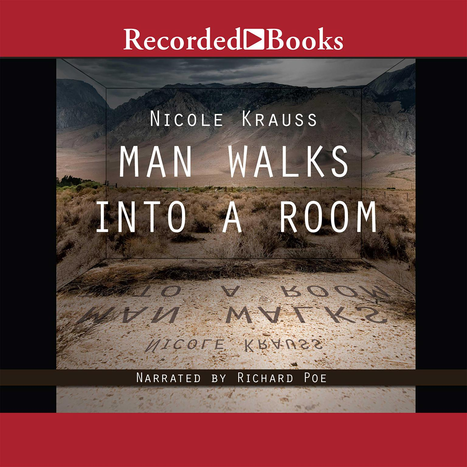 Printable Man Walks into a Room Audiobook Cover Art