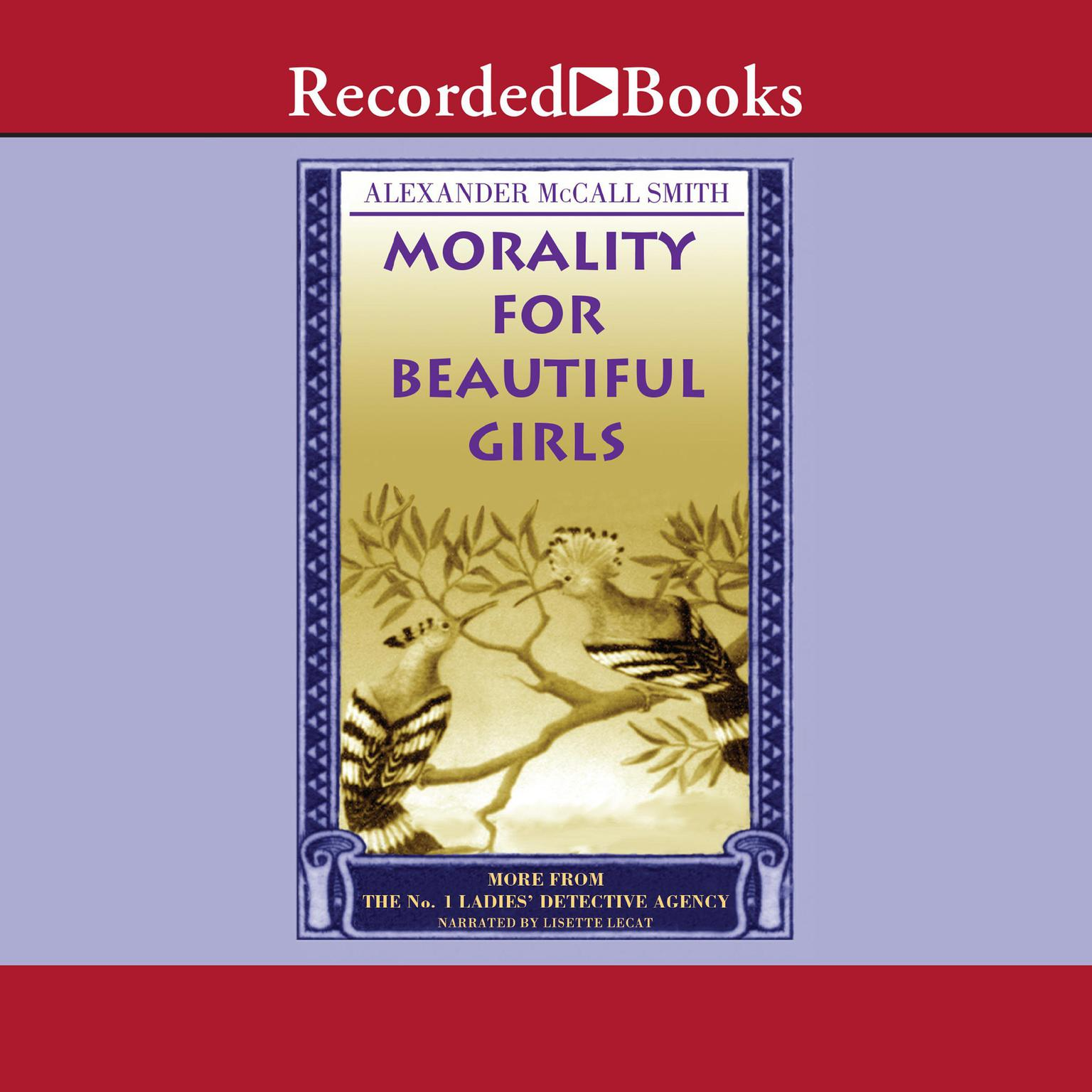 Printable Morality for Beautiful Girls Audiobook Cover Art