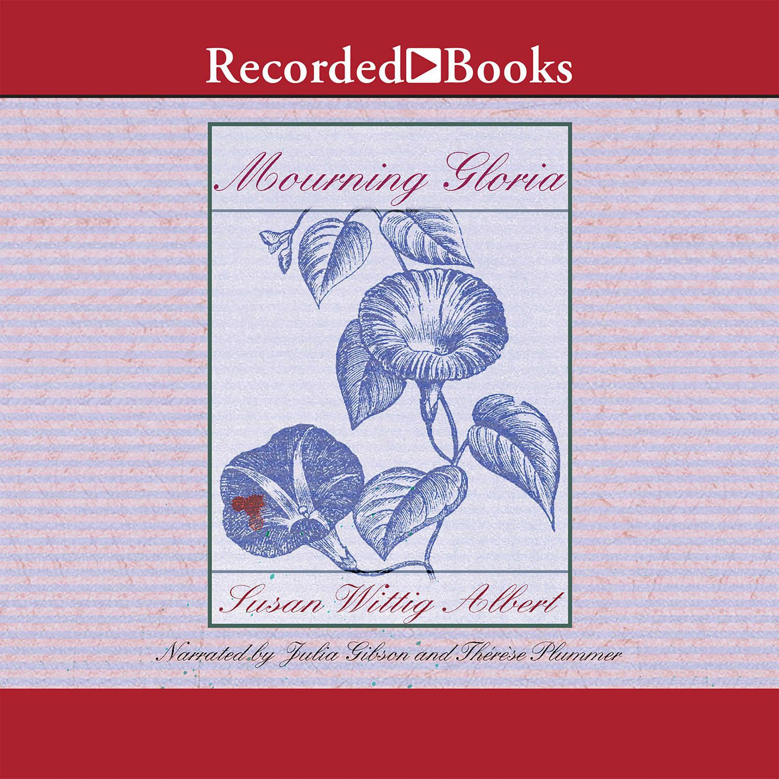 Printable Mourning Gloria Audiobook Cover Art