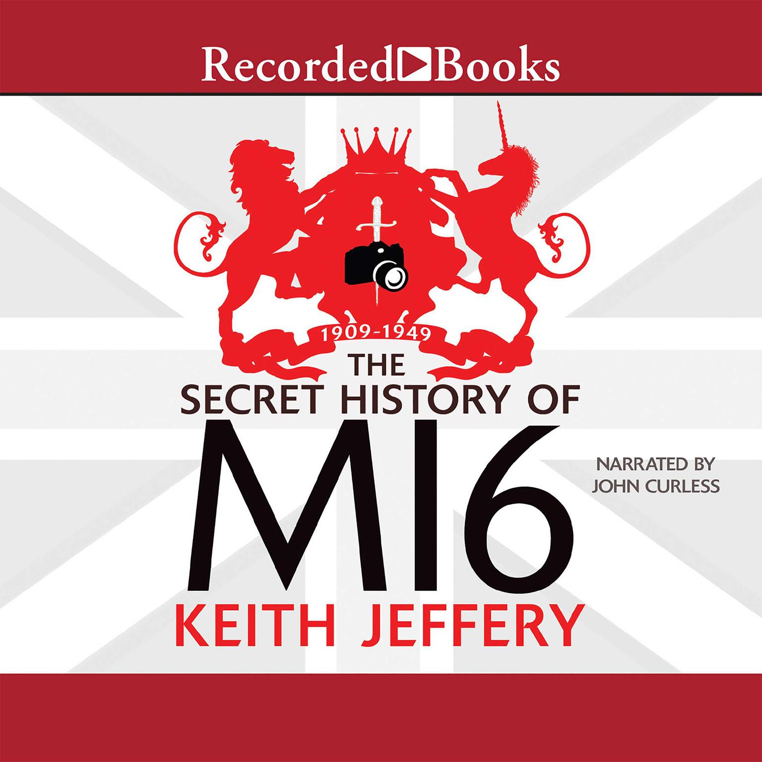 Printable The Secret History of MI6 Audiobook Cover Art