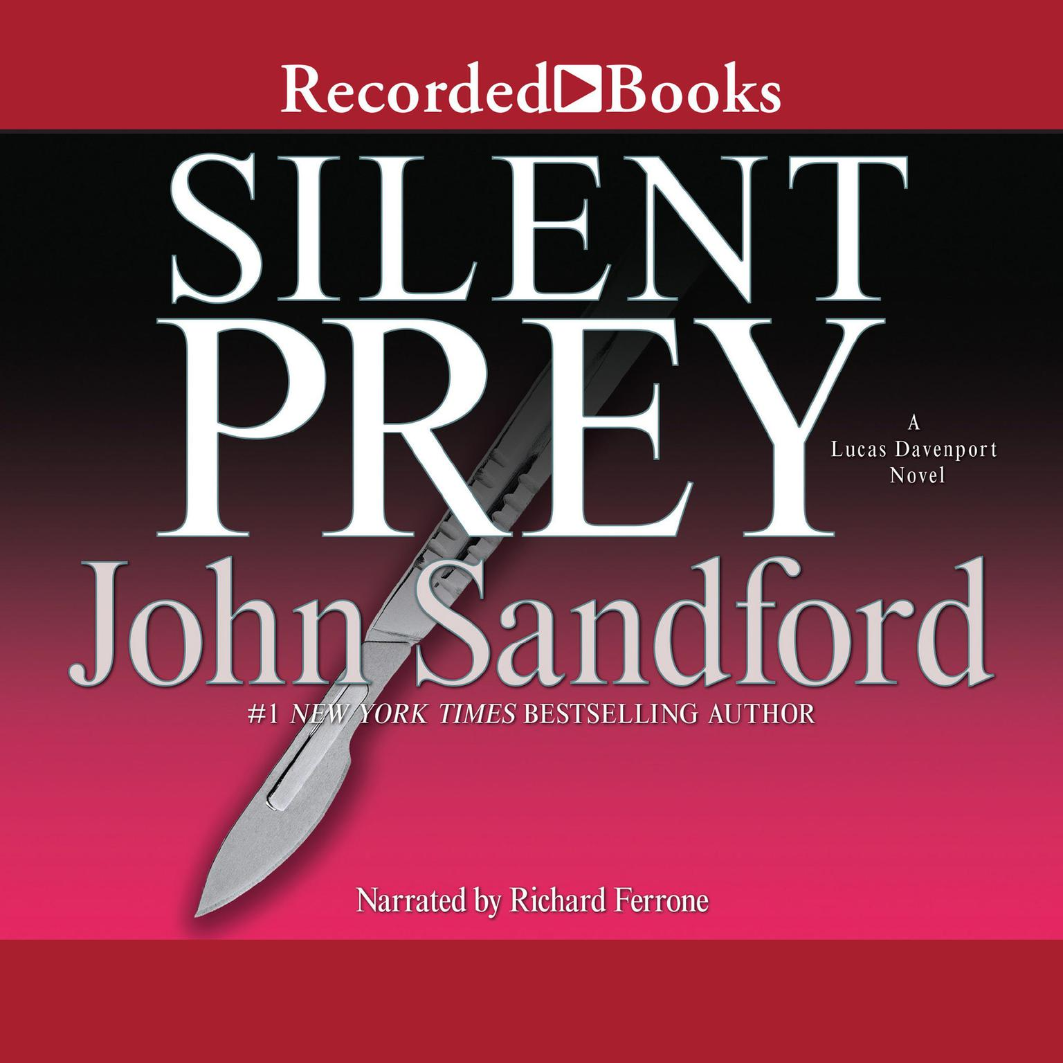 Printable Silent Prey Audiobook Cover Art