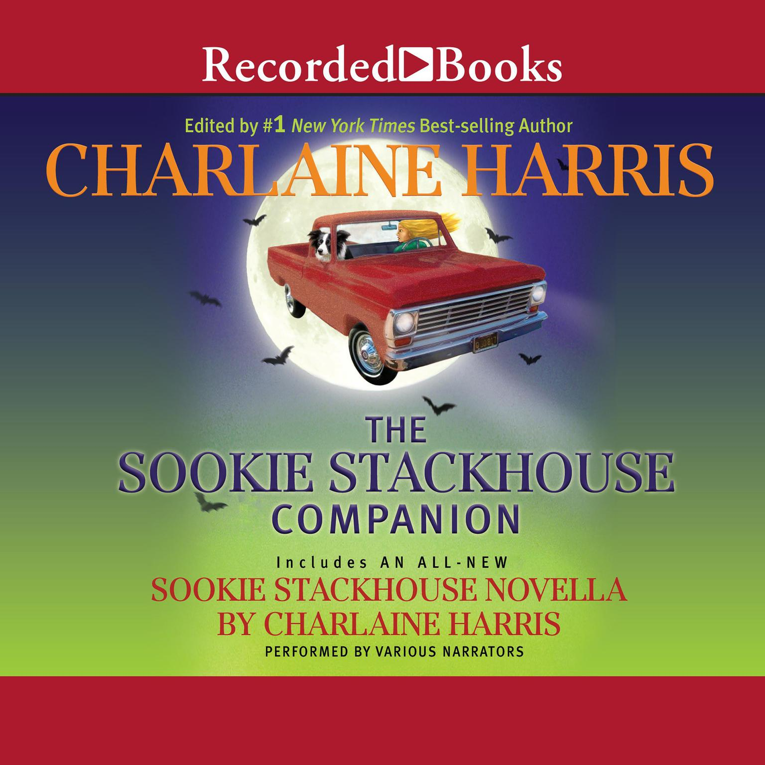 Printable The Sookie Stackhouse Companion Audiobook Cover Art
