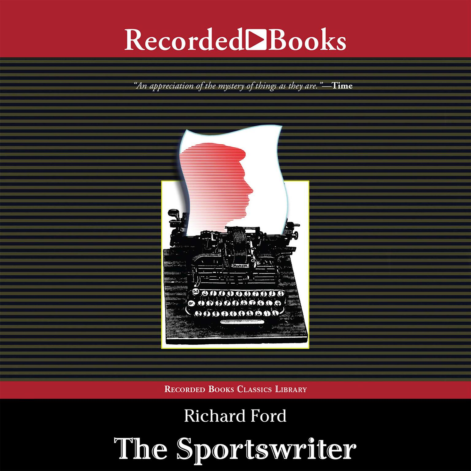 Printable The Sportswriter Audiobook Cover Art