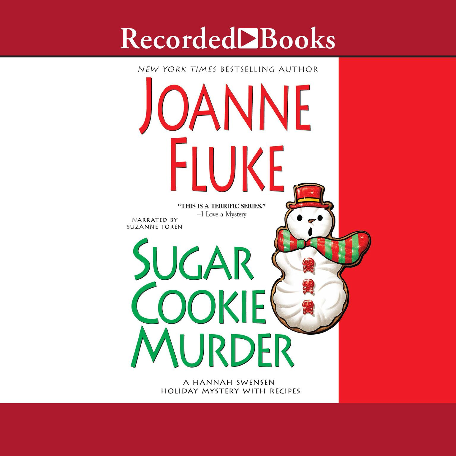 Printable Sugar Cookie Murder Audiobook Cover Art