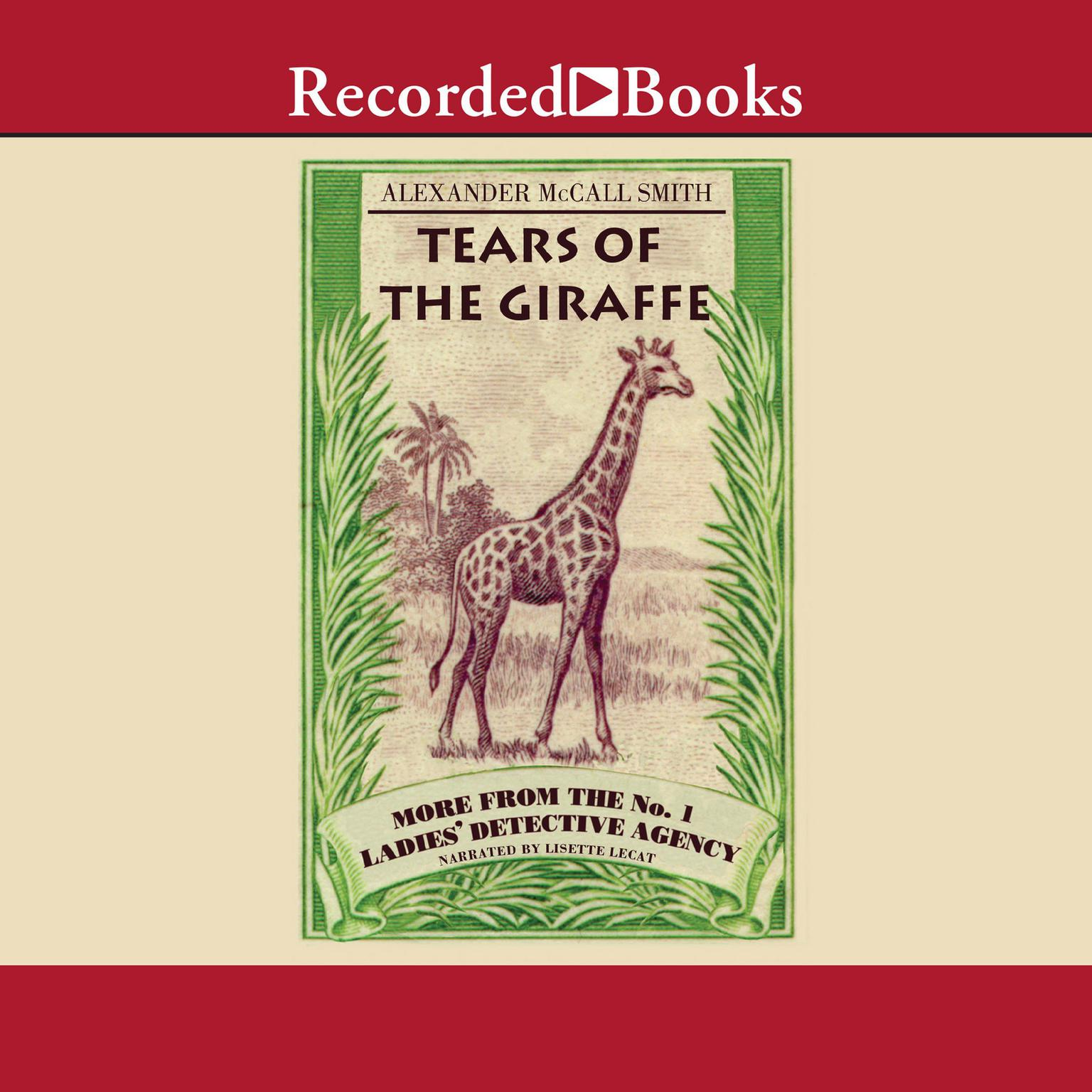 Printable Tears of the Giraffe Audiobook Cover Art