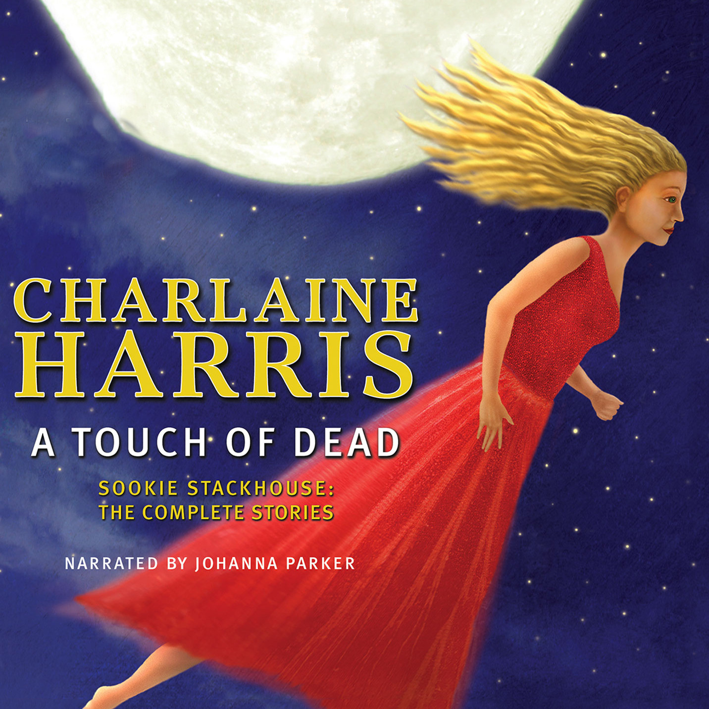 Printable A Touch of Dead Audiobook Cover Art