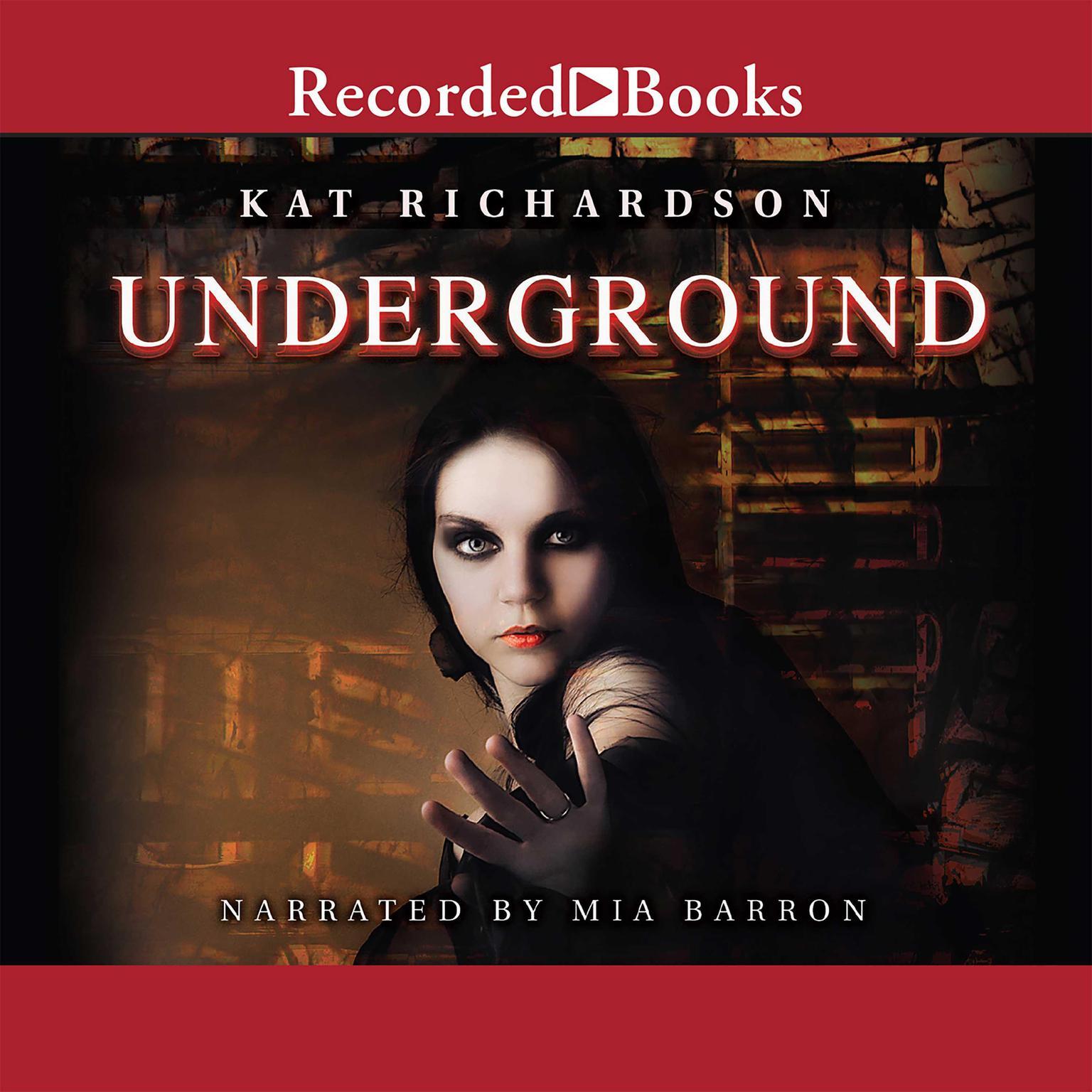 Printable Underground Audiobook Cover Art