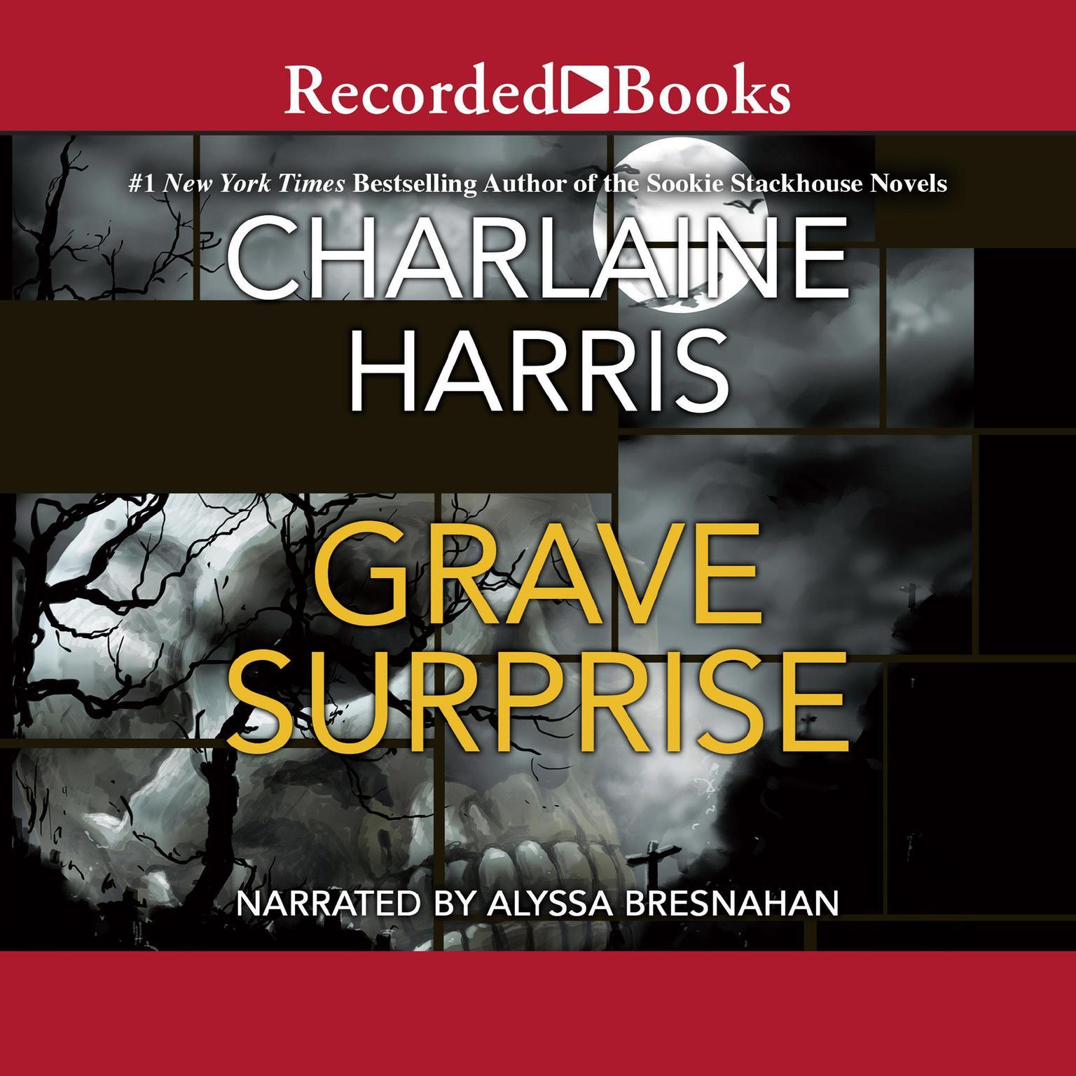 Printable Grave Surprise Audiobook Cover Art