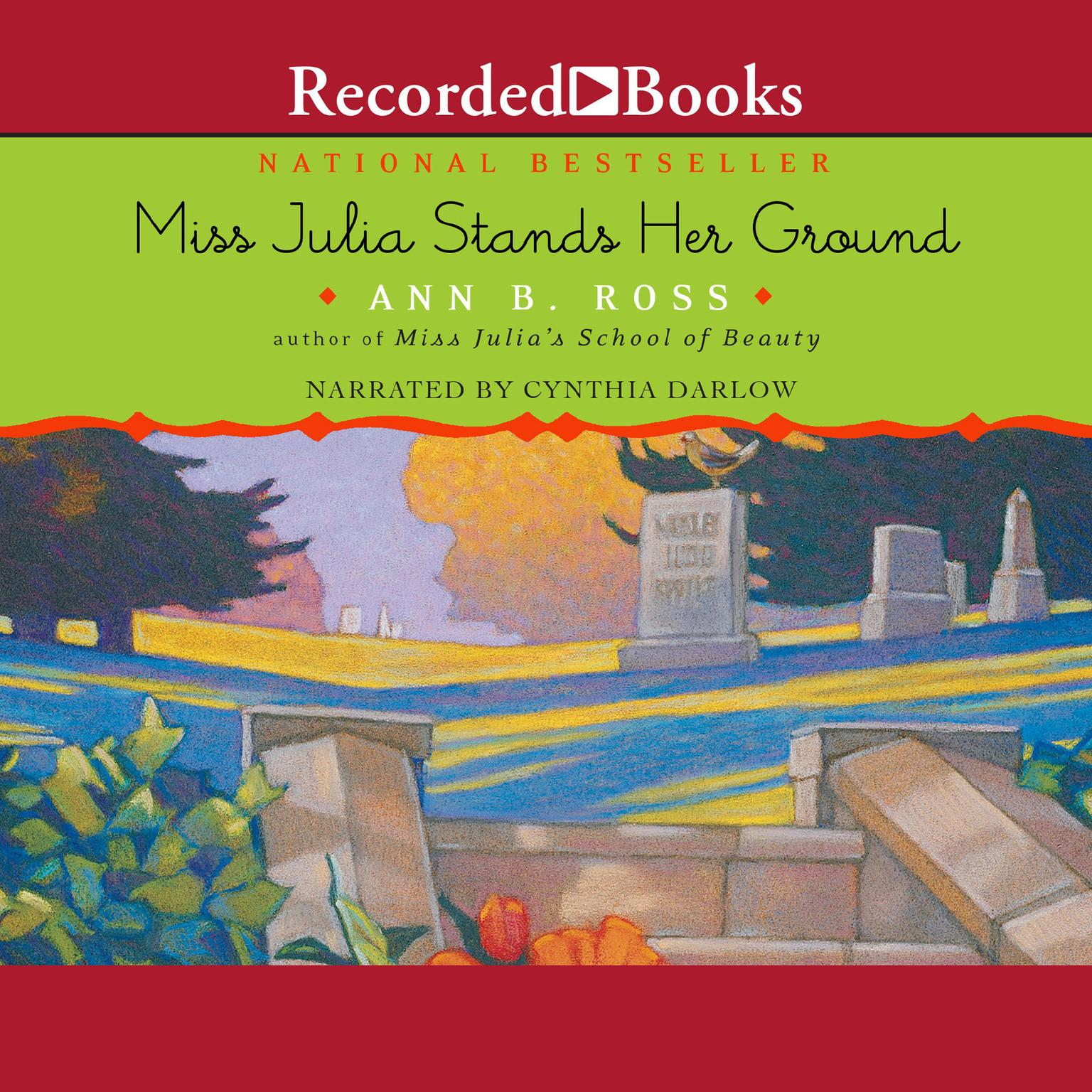 Printable Miss Julia Stands Her Ground Audiobook Cover Art