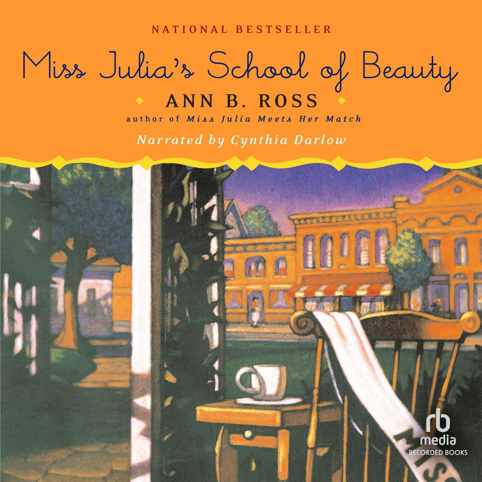 Printable Miss Julia's School of Beauty Audiobook Cover Art