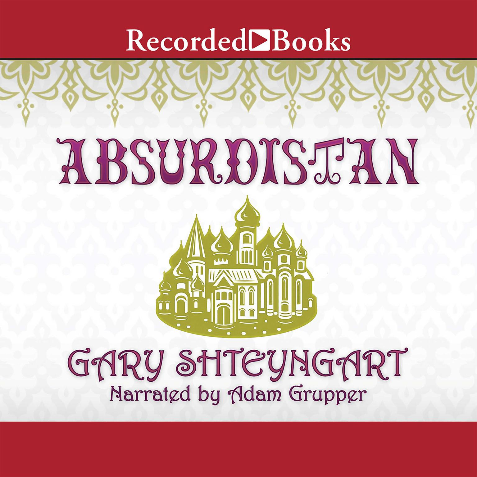 Printable Absurdistan Audiobook Cover Art