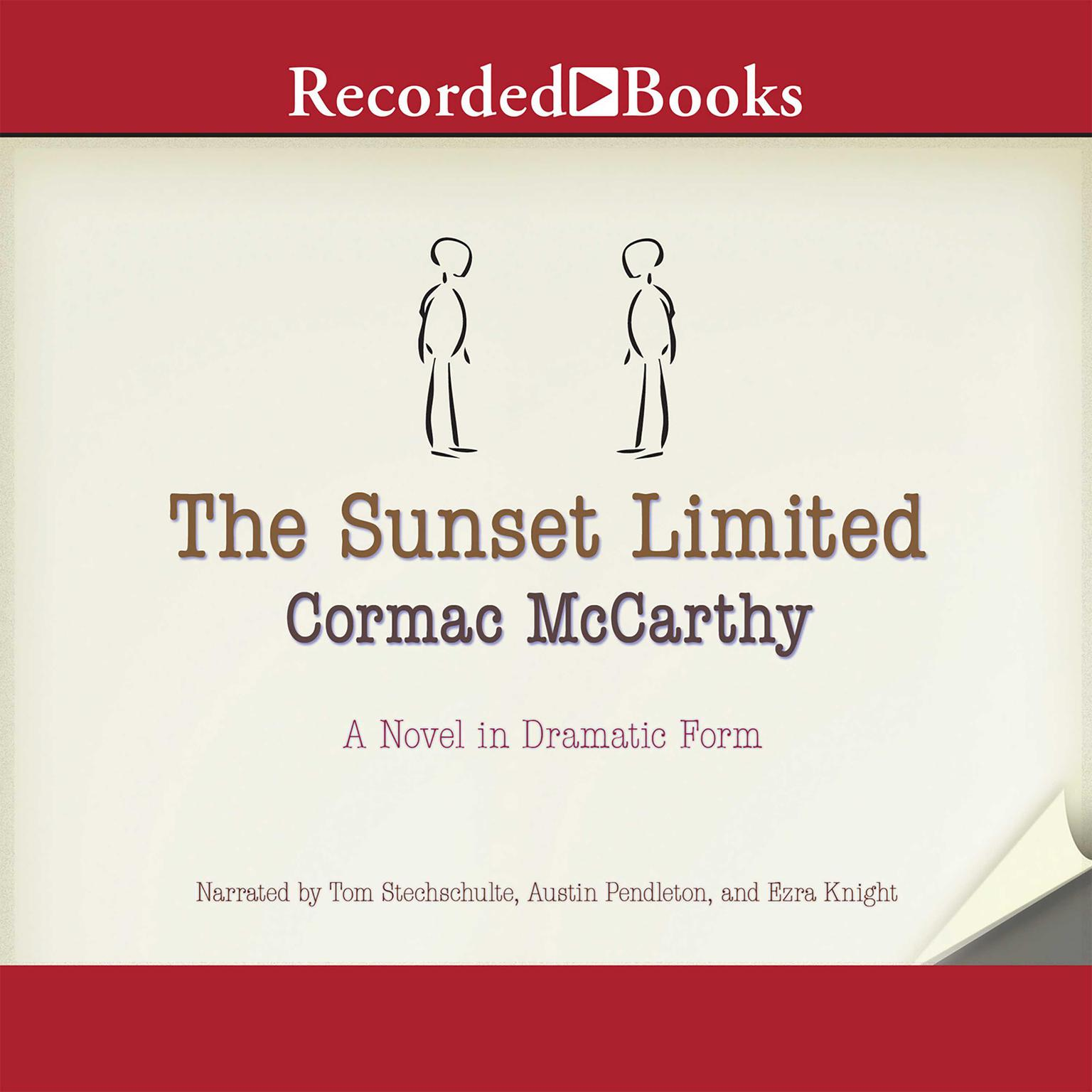 Printable The Sunset Limited: A Novel in Dramatic Form Audiobook Cover Art