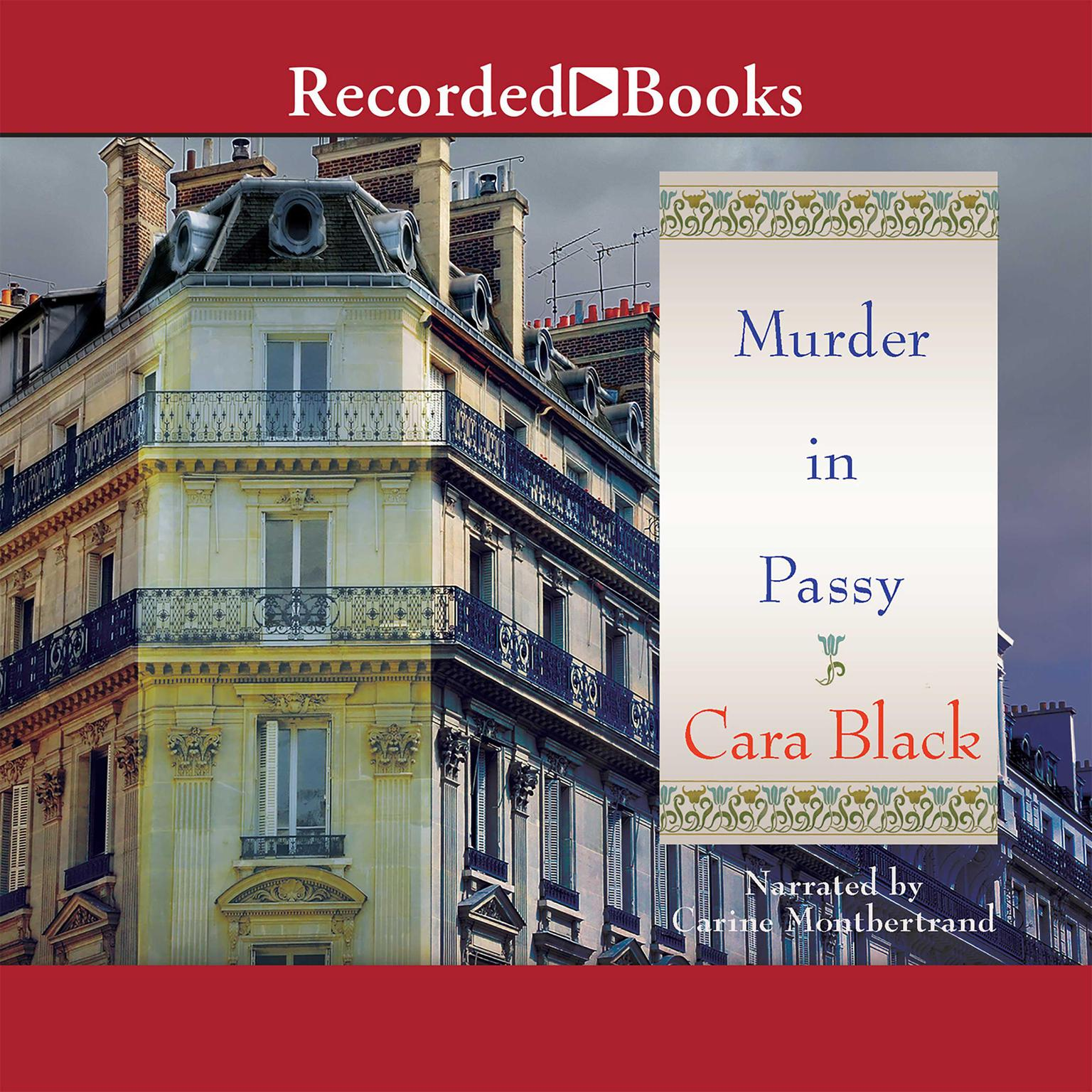 Printable Murder in Passy Audiobook Cover Art