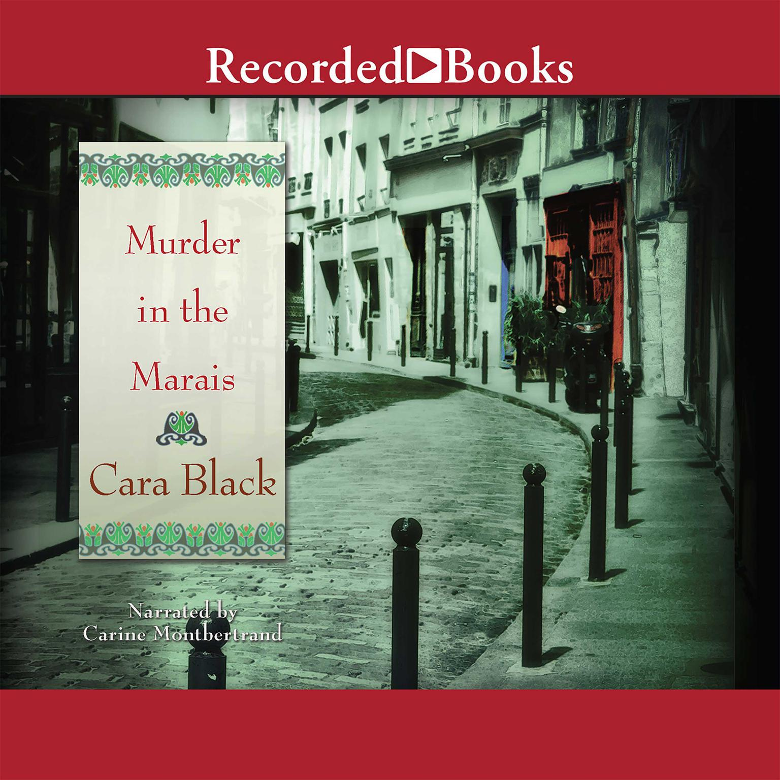 Printable Murder in the Marais Audiobook Cover Art