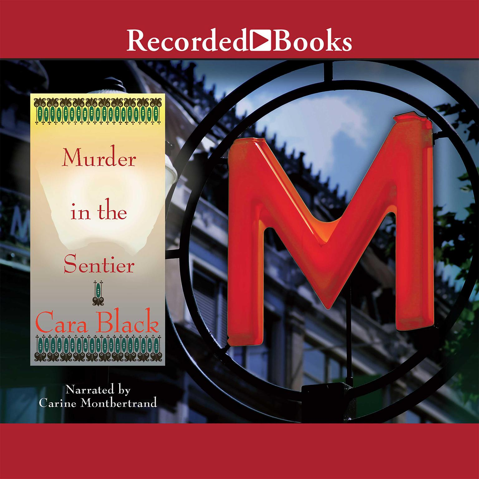 Printable Murder in the Sentier Audiobook Cover Art