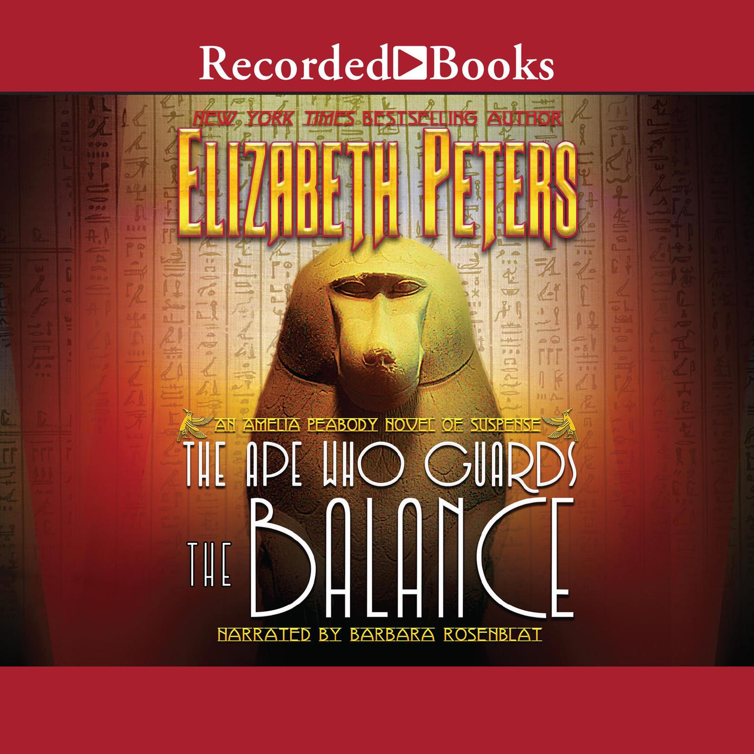 Printable The Ape Who Guards the Balance Audiobook Cover Art
