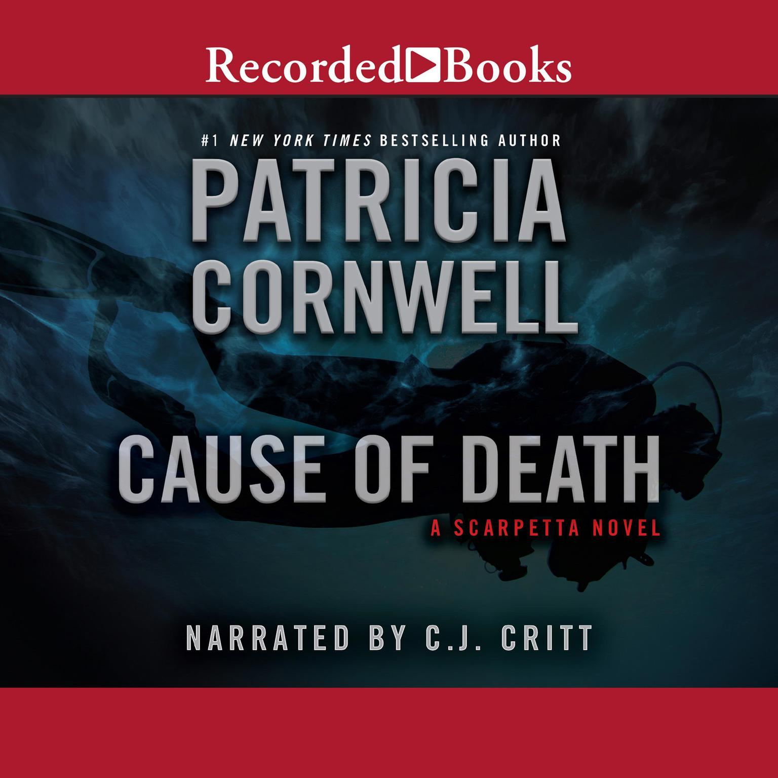 Printable Cause of Death Audiobook Cover Art