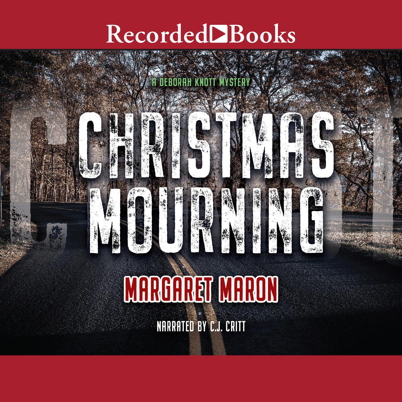 Printable Christmas Mourning Audiobook Cover Art